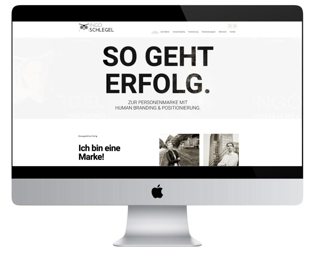 Human Branding & Positionierung beim Impulsgeber Ingo Schlegel